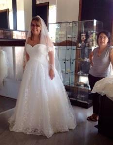 vestida de novia y no me gusto