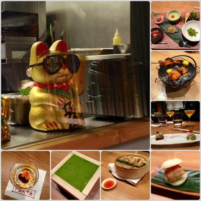 Cena menu desgustación Pakta comida Nikkei lataat
