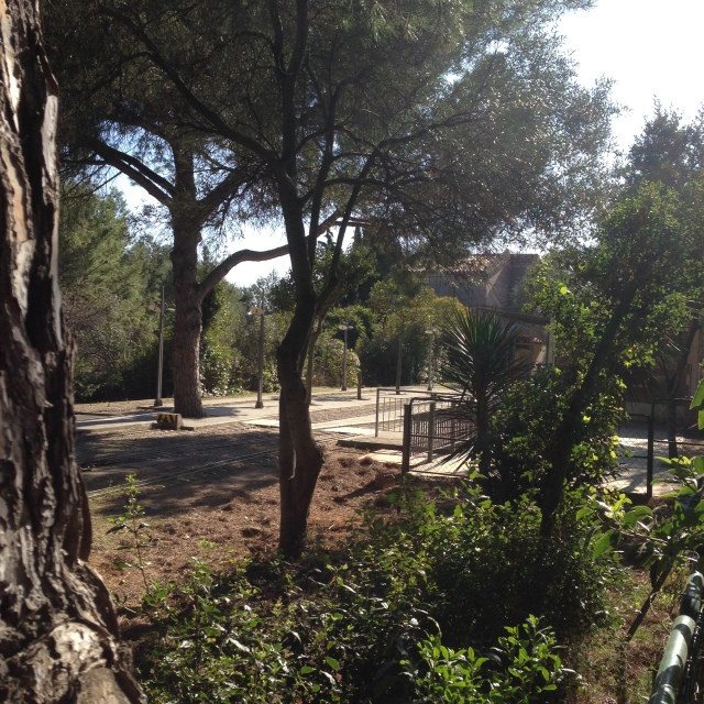 el parc de oreneta barcelona