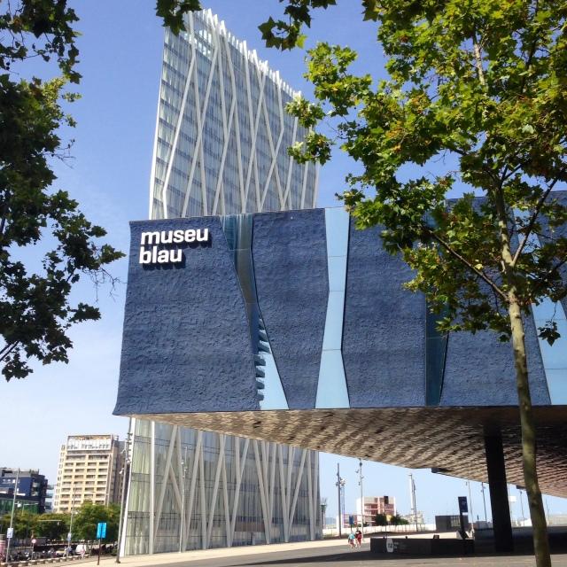 museu blau forum de barcelona