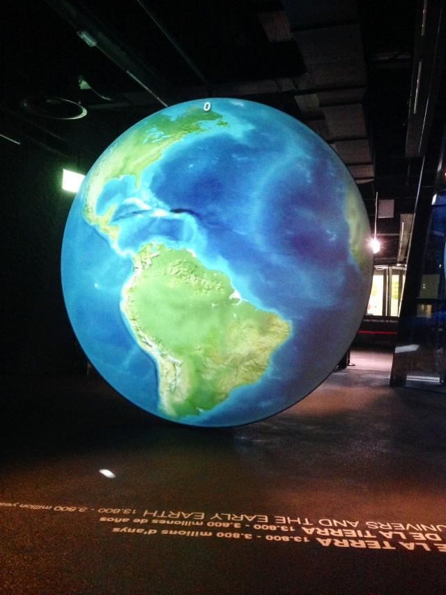 museu blau planeta terra globo terreste