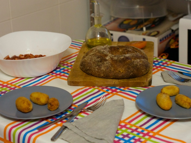 cena rica rica: croquetas caseras