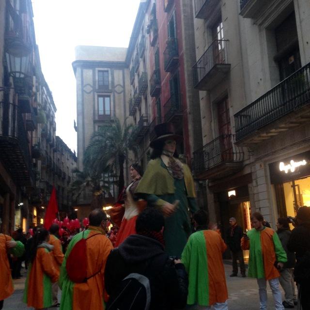 gegant de carnestoltes carnaval 2015