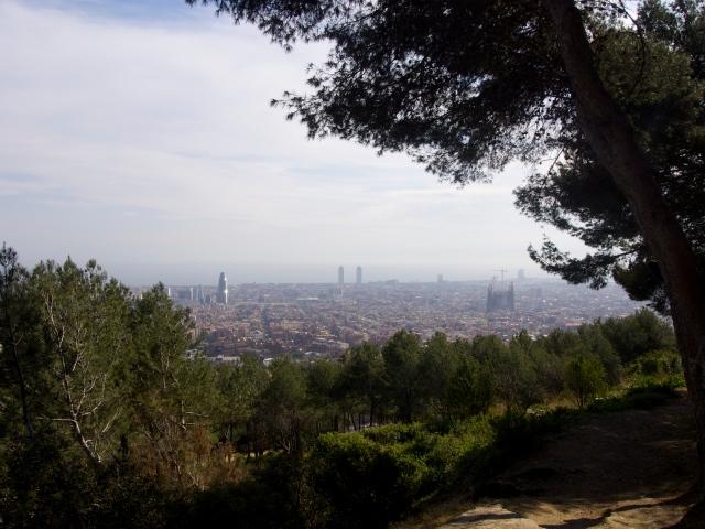 a mis pies mi ciudad barcelona